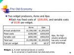 the old economy