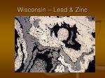 wisconsin lead zinc