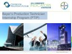 bayer s production technician internship program ptip