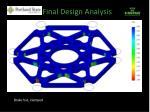 final design analysis5