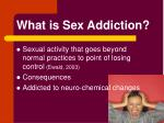 what is sex addiction