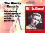 the kinsey reports