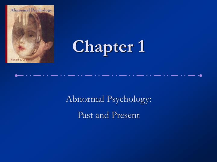 abnormal psychology exam i An examination of the major psychological disorders including depression, schizophrenia, personality disorders, psychosomatic disorders, organic disorders, and the disorders of childhood.