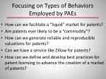 focusing on types of behaviors employed by paes