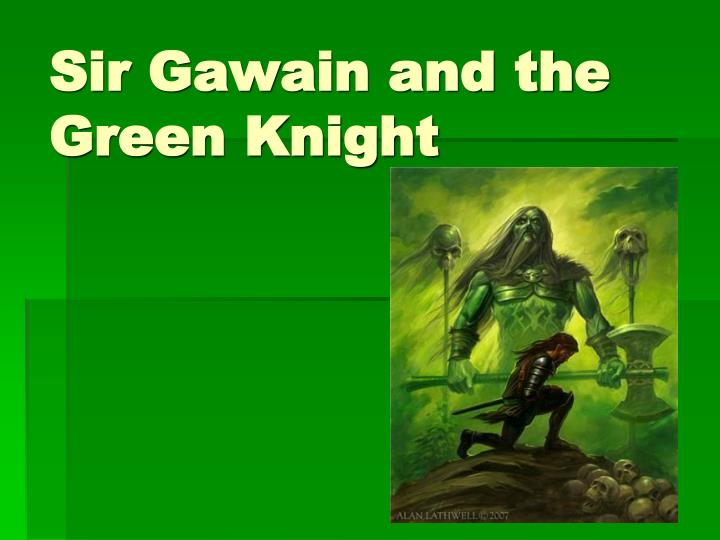 sir gawain and the green knight n.