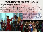 the catcher in the rye ch 131