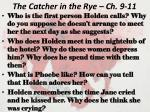 the catcher in the rye ch 9 11
