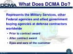 what does dcma do