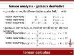 tensor calculus12