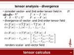 tensor calculus14