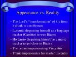 appearance vs reality1