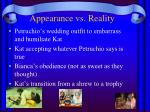appearance vs reality2