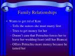 family relationships1