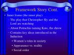 framework story cont