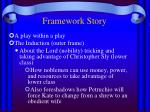 framework story