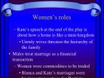 women s roles1