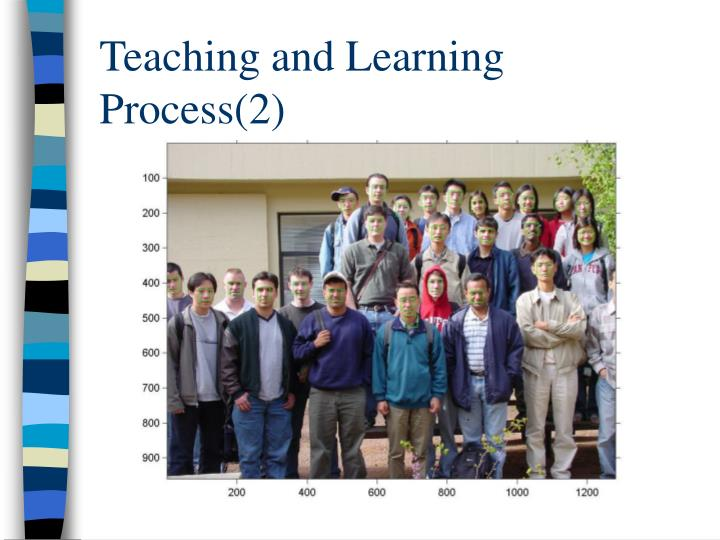 Teaching and Learning Process(2)