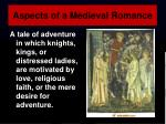 aspects of a medieval romance4