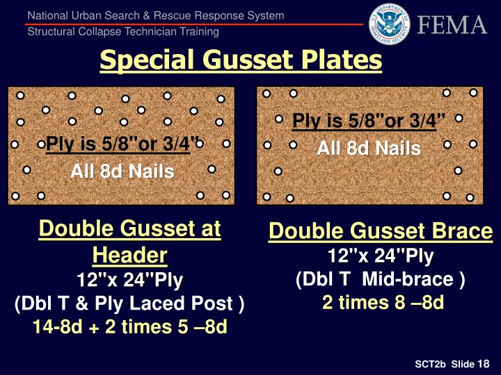 Special Gusset Plates