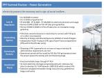 ppp sectoral review power generation