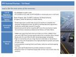 ppp sectoral review toll road