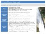 ppp sectoral review water supply