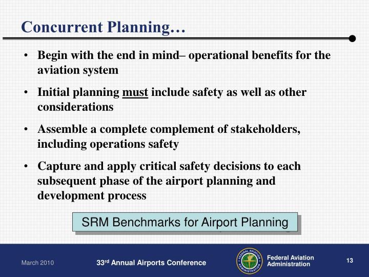 Concurrent Planning…