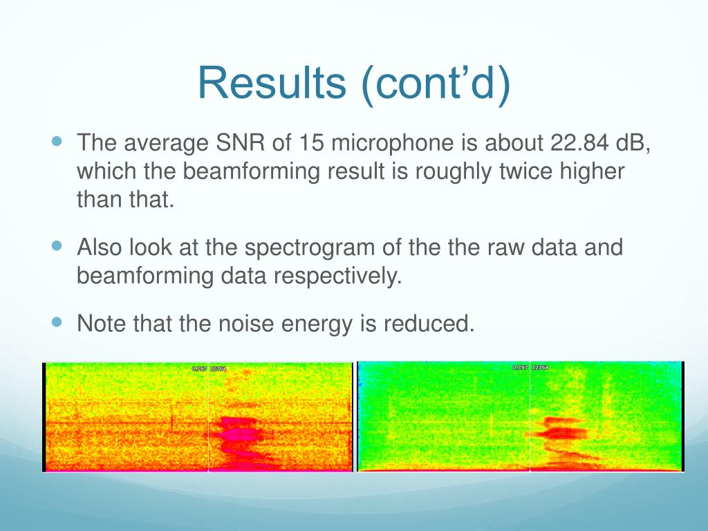 PPT - Microphone Array and Beamforming PowerPoint Presentation - ID