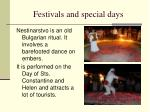 festivals and special days1