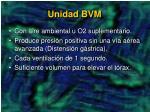 unidad bvm