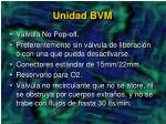 unidad bvm1