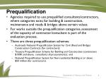 prequalification