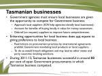 tasmanian businesses
