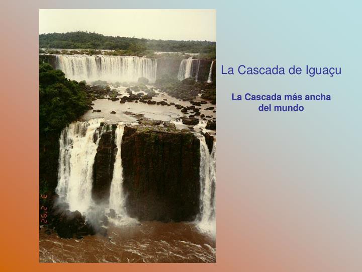 La Cascada de Igua