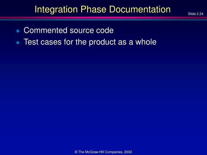 Integration Phase Documentation