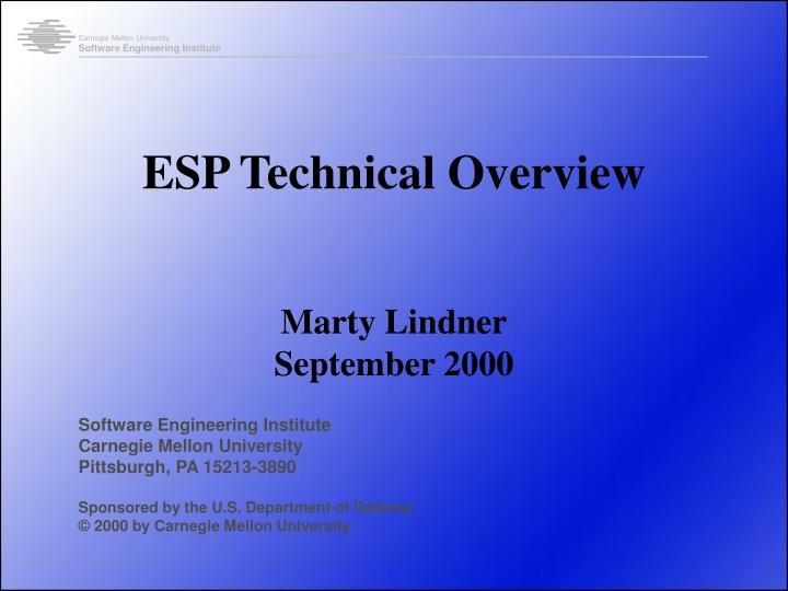 esp technical overview n.