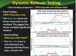 dynamic rollover testing1
