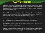 halo description