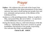 prayer in unison