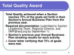 total quality award