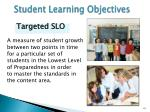 student learning objectives2