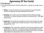 agronomy of tea contd1