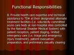 functional responsibilities1