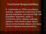 functional responsibilities4