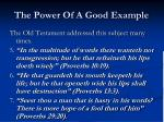 the power of a good example4
