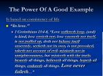 the power of a good example8