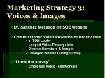 marketing strategy 3 voices images
