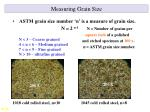 measuring grain size