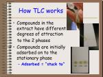 how tlc works