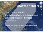afweyne network
